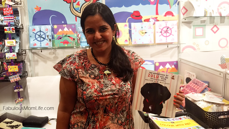 Shirali Merchant of Purple Hathi with her newly launched kids story book