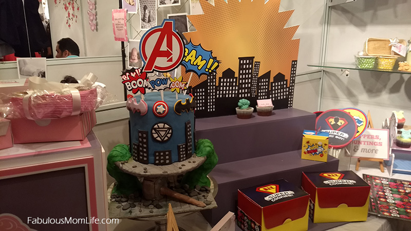 Superhero Avengers Birthday Cake