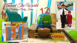 An Around The World Birthday Party for My Daughter's 12th!