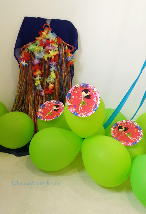 Around the World Party Decor - Hawaii