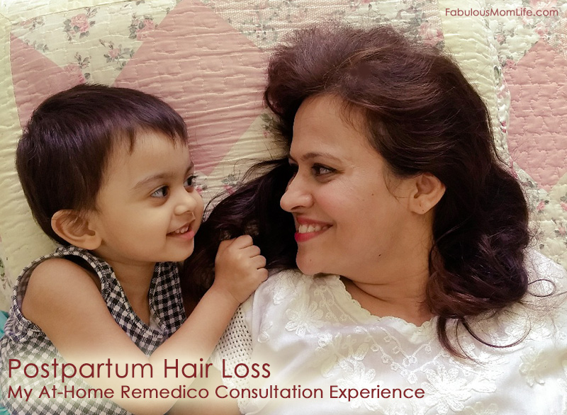 Postpartum Hair Loss - My At-Home Remedico Consultation Experience