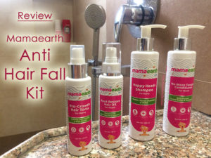 Mamaearth Anti Hair Fall Kit Review