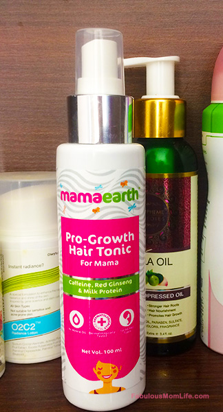 Mamaearth Pro-Growth Hair Tonic Review