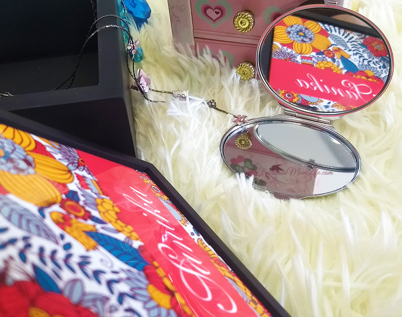 Personalized Compact Mirror - Gift Ideas for Girls