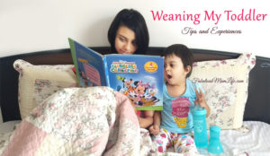 Weaning My Toddler – I am finally there!