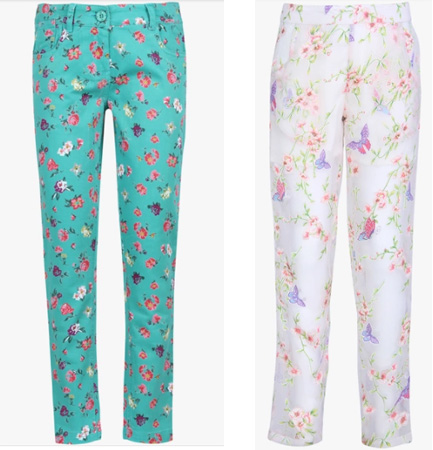 Printed Trousers - Preteen Girls Fashion in India