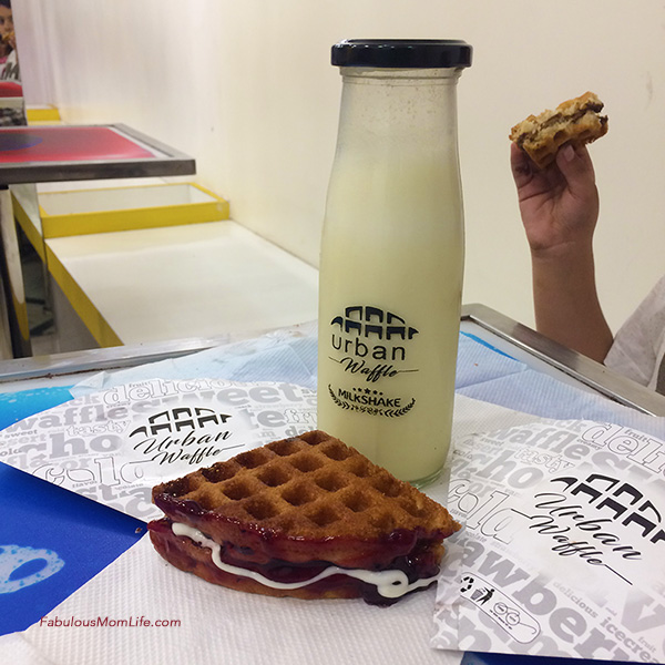 Urban Waffle Review - Waffles and Milkshakes