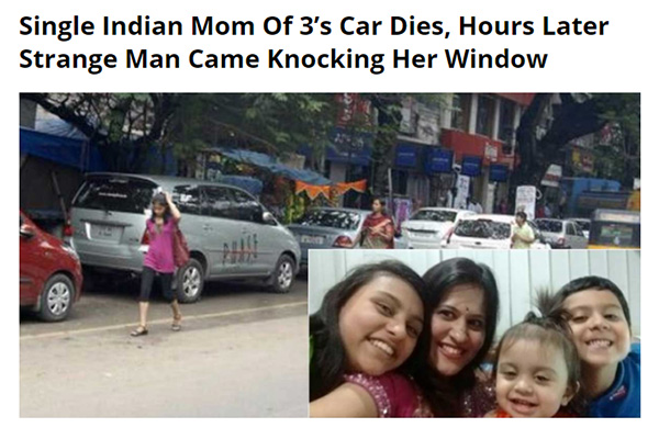 Fake news about Indian mom of 3, using my pics wrongfully