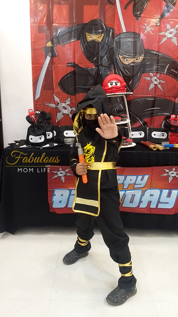Ninja Birthday Boy Costume