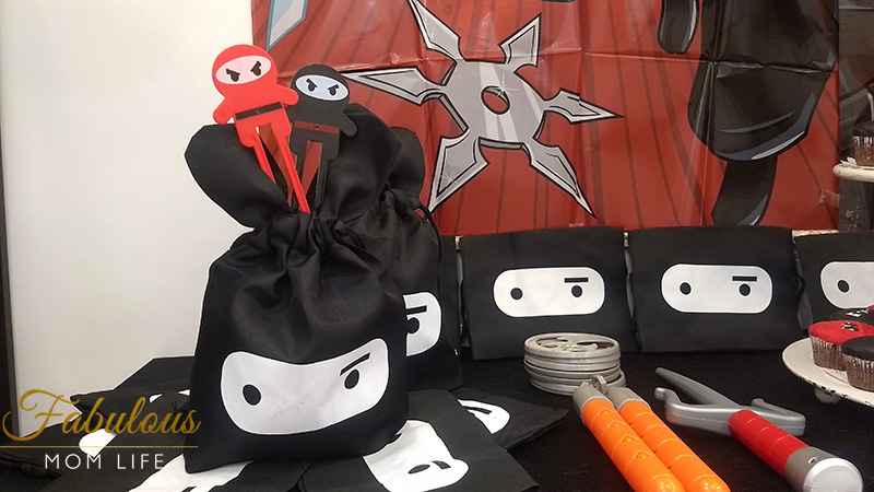 Ninja Birthday Party Favors
