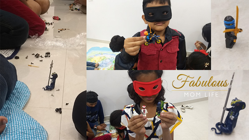 Ninja Party Activities - Lego Ninjago