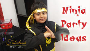 Ninja Birthday Party Ideas from My Son's 7th Bday