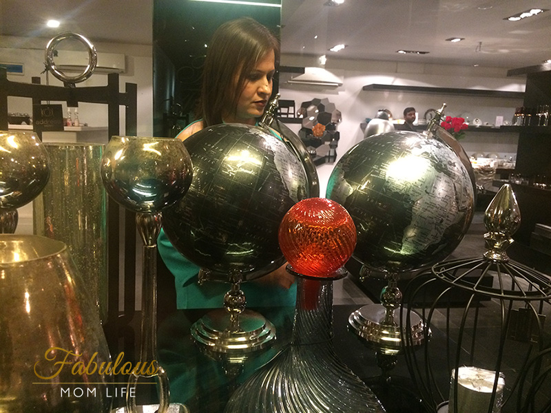 address home decorative globes