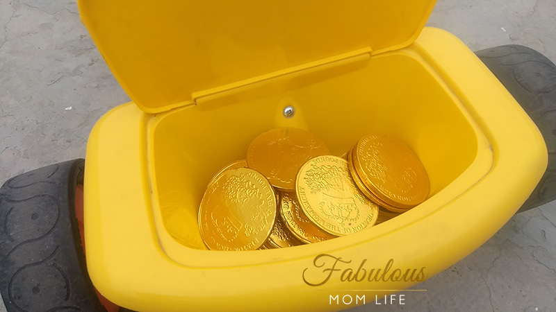 chocolate coins treasure hunt