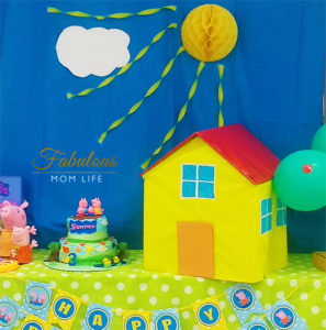 DIY Peppa Pig Cardboard House