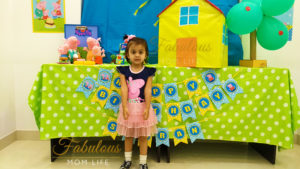 Peppa Pig Birthday Party Decor and Backdrop