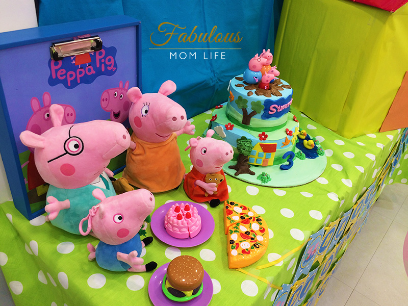 Peppa Pig Birthday Party Decor And Backdrop Fabulous Mom Life