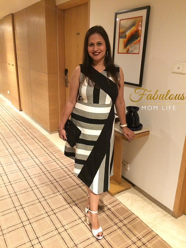 indian mom fashion date night outfit
