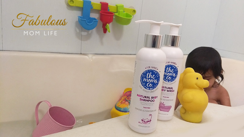 The Moms Co Natural Baby Shampoo and Natural Baby Wash - Our New Bath Routine