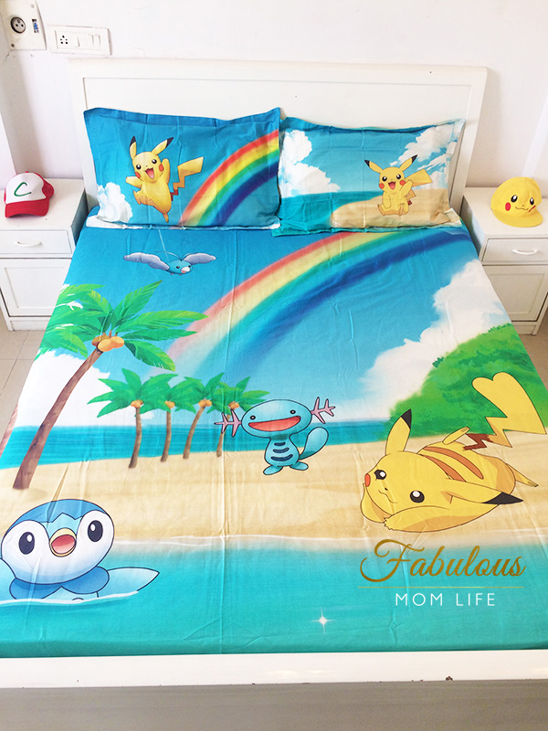tangerine bedsheets review-pokemon