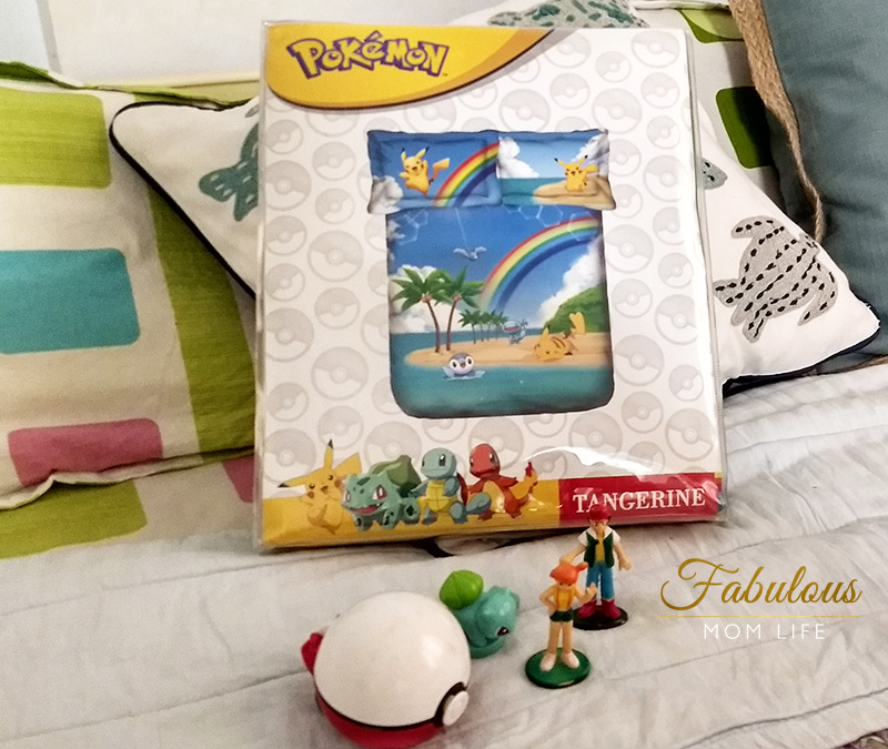 Pokemon Double Bed Sheet from Tangerine