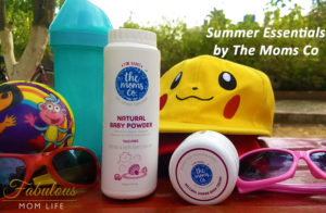 Summer Essentials: Talc Free Baby Powder and Natural Diaper Rash Cream by The Moms Co