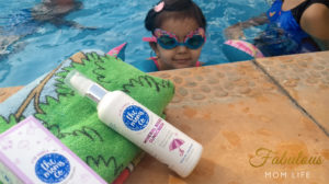 Safe Summer Pool Time with The Moms Co Baby Sunscreen