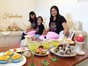 BonOrganik Matching Mom and Daughters Tees