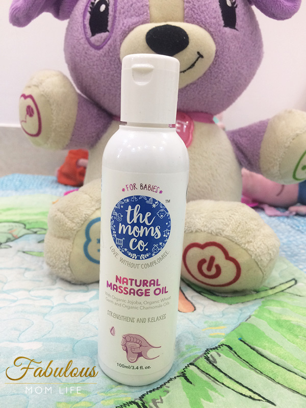 The Moms Co Natural Baby Massage Oil Review