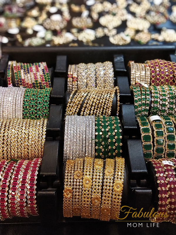 Studded cz bangles from Anmol Jewels & Pearls, Hyderabad