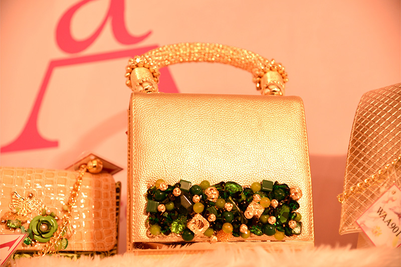 Evening Clutches on Display at fashionista exhibition nagpur