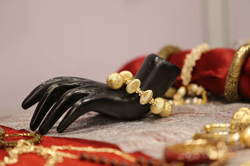 Jewelry on Display at fashionista exhibition nagpur
