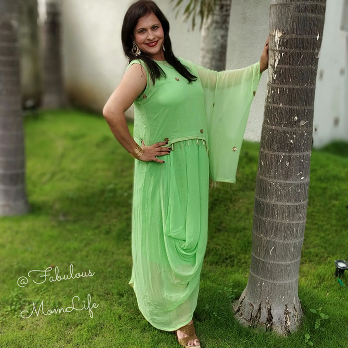 indo western gowns for women