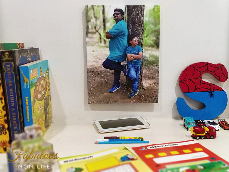Framing Dad - Son Memories : Photojaanic Review