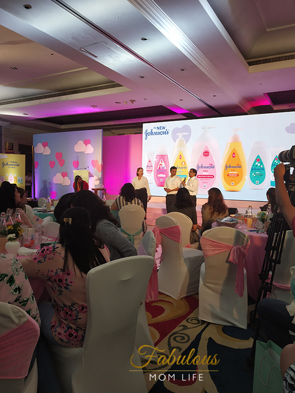 new johnsons baby launch india - Question and Answer Session