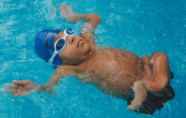 Moin M. Junnedi - Youngest Swimmer who battles with Brittle Bone Disease