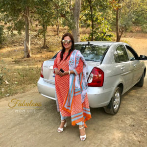 Indian Mom Fashion - Breezy Cotton Palazzo Suit Set for Indian Summers
