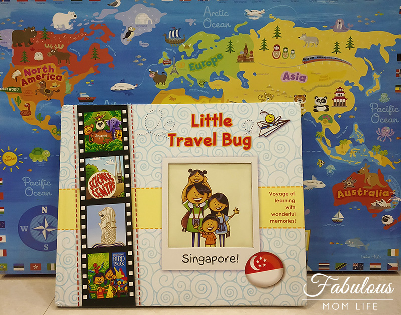Singapore Guide and Scrapbook from The Little Travel Bug