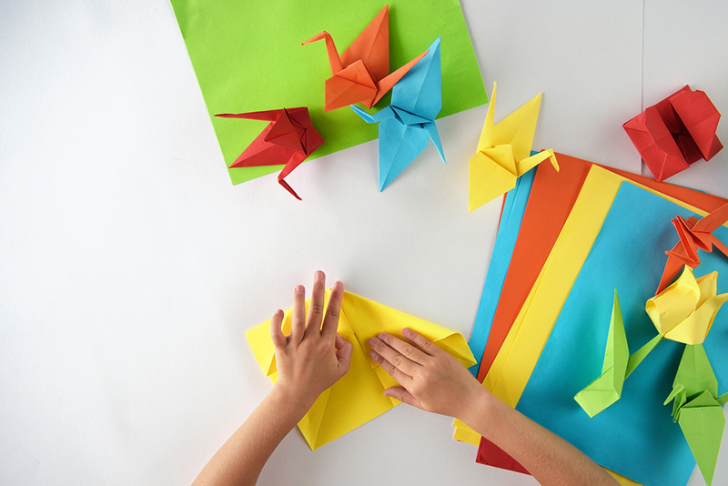 Origami Birds - Kids Crafts