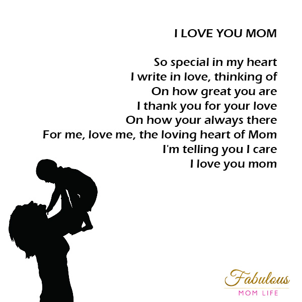 Mother S Day Poems Fabulous Mom Life
