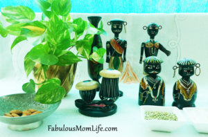 Traditional Wooden Indian Toys - Table Decorating