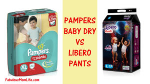 Libero Diaper Pants vs Pampers Baby Dry Diaper Pants