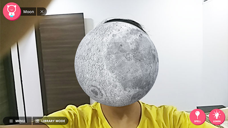 Shifu Space - Moon face selfie