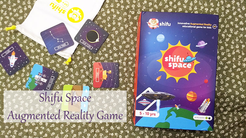 Review: Shifu Space - Educational Augmented Reality Game for Kids