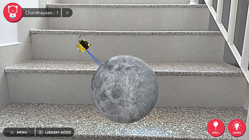 shifu space moon with chandrayaan