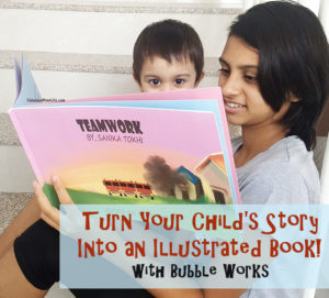 Turn Your Child's Story Into an Illustrated Book! – Bubble Works Review