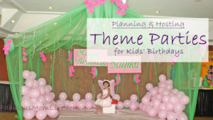 Guide to Planning & Hosting Theme Parties for Kids' Birthdays - Fairy Themed Birthday Stage Decoration