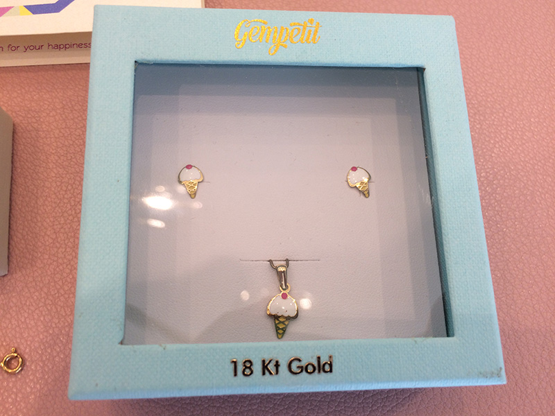 Ice Cream themed Jewelry set for Kids by Gempetit India