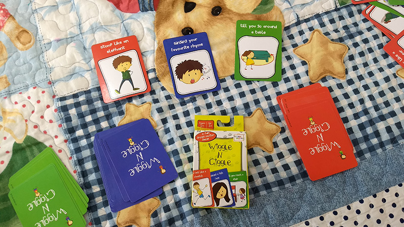 Wiggle and Giggle Activity Cards Review