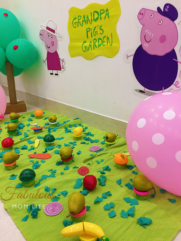 Grandpa Pig's Garden - Peppa Pig Birthday Party Games